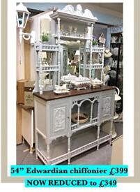 Edwardian chiffonier professionally painted REDUCED