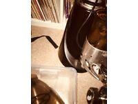La spazielle coffee grinder black cafe restaurant