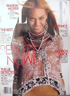 ELLE Magazine BEYONCE KNOWLES Fashion - April 2003