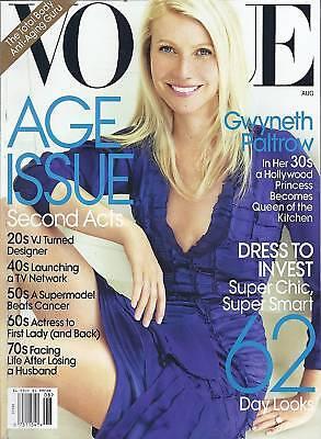 Vogue magazine Gwyneth Paltrow Chic fashion Age issue Alexa Chung Fashion