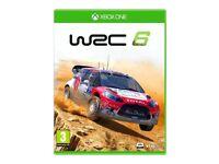 XBOX ONE GAME WRC 6