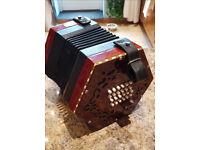 English type concertina - good condition