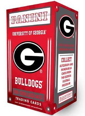 2015 Panini Univ. Of Georgia Bulldogs Multi Sport Blaster Box of Trading Cards