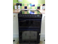 Dual Fuel Belling Cooker. (Gas hob, Electric fan oven)