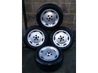 16 Inch Jaguar x300 xj40 x308 xj6 dimple alloy wheels