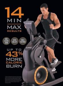 FREE SHIPPING Famous MAX 14: 14-minute workout MAX TRAINER Latest Model from Octane