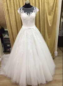 Allure Wedding Dress / Bridal Gown Size 12