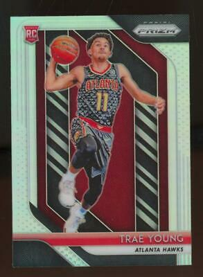 2018 Panini Prizm Silver #78 Trae Young RC Rookie