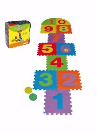 baby foam jigsaw number puzzle mat