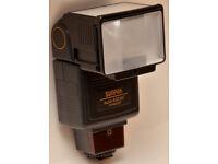 RARE : Vintage Excellent Condition - Sunpak Auto 433 AF Flash Unit HotShoe Mount