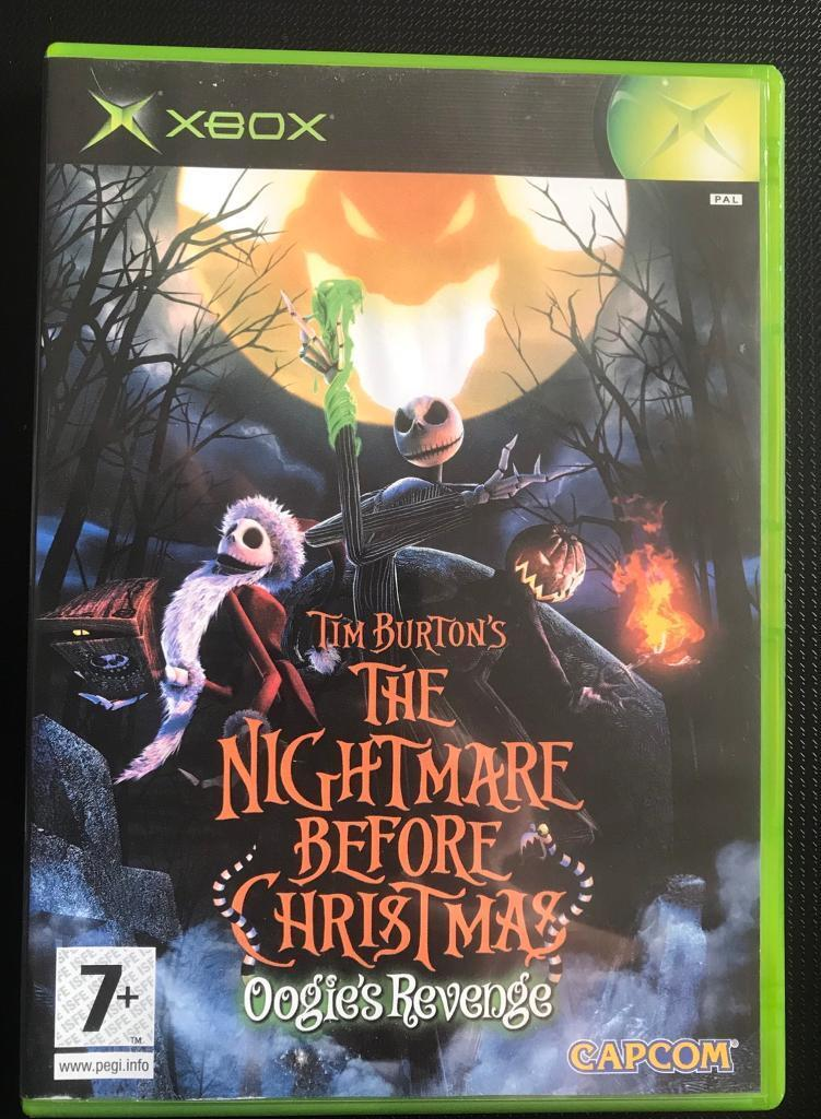 xbox the nightmare before christmas game - The Nightmare Before Christmas Games