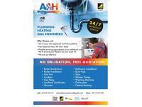 Qualified Gas heating Engineers/plumbers / Cooker/Combi Boiler/