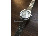 Audemars Piguet Royal Oak, White Dial, 33mm Swiss ETA, Womens (3 Day Promo Price)