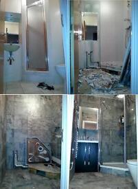 Bathroom Fitter, Kitchen Fitter, Plumber, Carpenter, Tiler, Builder, Laminate and Wooden flooring