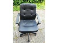 Faux Leather Office Chair Good condition