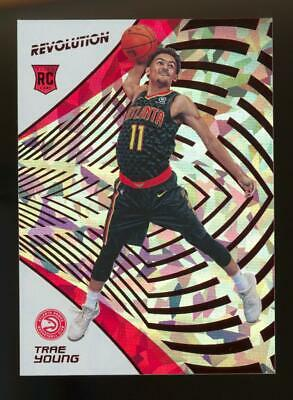 2018 Panini Revolution Chinese New Year #150 Trae Young RC Rookie