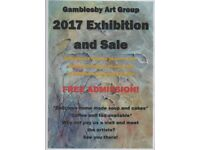 GAMBLESBY ART EXHIBITION.. SAT 28th --SUN 29th OCTOBER