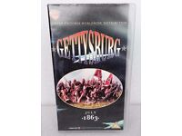 GETTYSBURG PARTS 1 & 2 VHS BOX SET