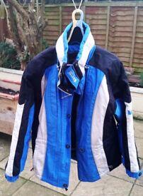 Couloir Quality Ladies / Girls Blue Ski Jacket