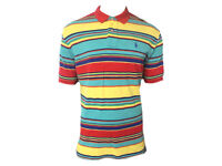 Polo Ralph Lauren Mens Short Sleeve Striped Mesh Top Tee T-shirt TW72