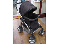 Silver Cross Sleepover Deluxe (Pram, Pushchair & Moses Basket and Ventura Plus Car Seat