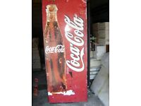 Coca Cola shop fridge