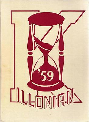 For sale Killingly High School Danielson Connecticut 1959 Yearbook Annual