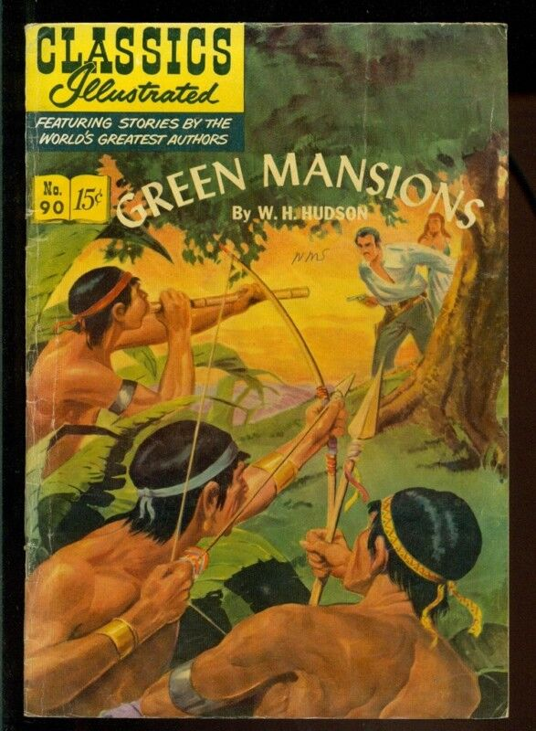Classics Illustrated #90, Green Mansions HRN 89!