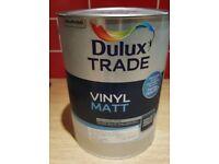 Dulux Trade Vinyl Matt 5l tin Jurassic Stone