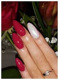 Acrylic /Gel extensions now £20 shellac £10 until the end of April