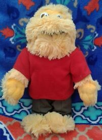 "suger puffs honey monster 12"" soft toy"