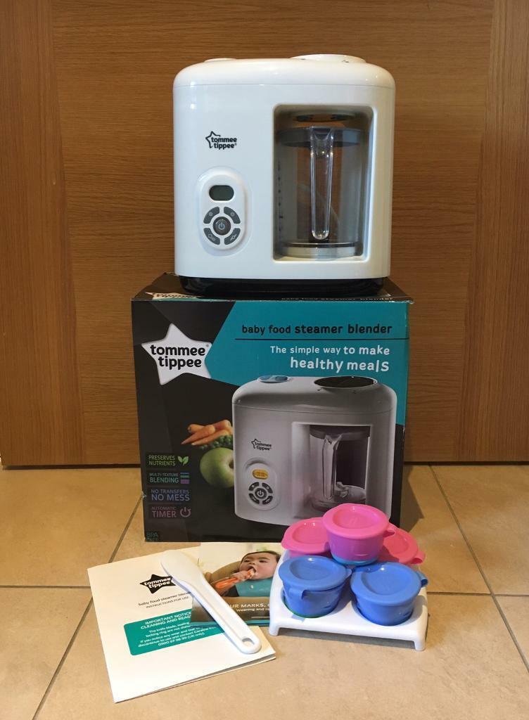 Tommee Tippee Baby Food Steamer Blender In Kings Worthy Hampshire Gumtree