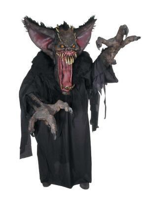 Creature Reacher Halloween Costumes (GRUESOME BAT CREATURE REACHER HALLOWEEN ADULT COSTUME Scary VAMPIRE Creepy)