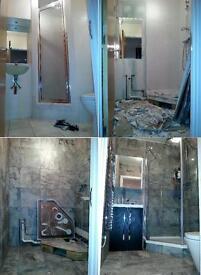 Kitchen Fitter, Bathroom Fitter, Plumber, Plastering, Tiling, Carpenter, Handyman