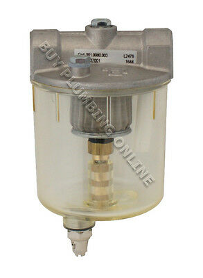 """Atkinson Oil Filter with Water Drain 3/8""""  GFH3578-W-3/8"""