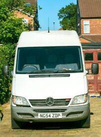 Long Wheel Base Mercedes LWB Sprinter Van Vehicle Sliding Door