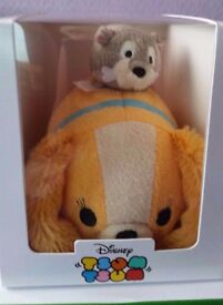 Disney Store Tsum Tsum Subscription Box - Lady and the Tramp