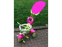Girls SmarTrike 4 in 1 Trike