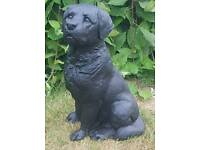 Labrador ; stone garden ornament