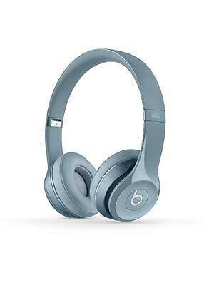 Brand New Original Beats by Dr. Dre Solo 2 Headband Wired Headphones - Gray