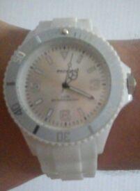 Job lot of x18 White watch's