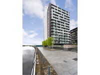 Luxury furnished 1 bed apartment in popular Glasgow Harbour development