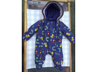 Snow suit for 0 to 3 months baby.