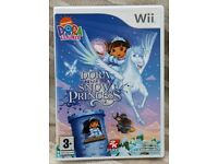 Nintendo Wii Dora Saves the Snow Princess Game with instruction booklet