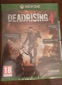 Xbox one game. Dead rising 4