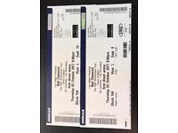 Neil diamond 50th anniversary 2 tickets