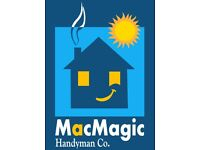 MacMagic Handyman Co. — painting, decorating, renovations, odd jobs — we're all about your home!