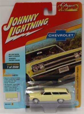 JOHNNY LIGHTNING 1:64 CLASSIC GOLD 2018 R3/A # 3 1965 CHEVY CHEVELLE 2DR WAGON for sale  Shipping to India