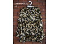 maternity clothes bundle 12 14 / maternity nursing cotton shirt Kappahl size 14