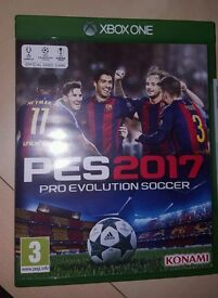 Pro Evolution Soccer 2017 (PES 2017) Xbox one used once!